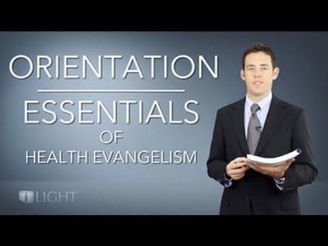 Orientation Class from the Essentials of Health Evangelism Online Course