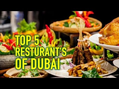 TOP 5 RESTAURANT'S IN DUBAI BY LUXURY