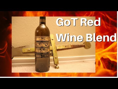 Game of Thrones Red Blend Wine Review
