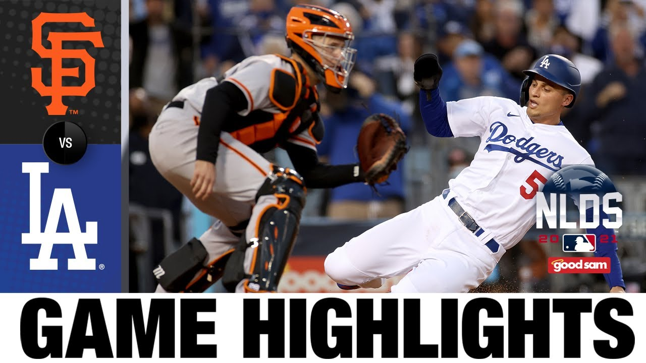 Download Giants vs. Dodgers NLDS Game 4 Highlights (10/12/21) | MLB Highlights