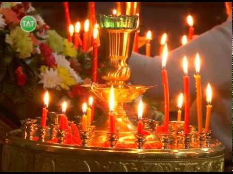 Первая пасхальная служба в Свято-Троицком храме