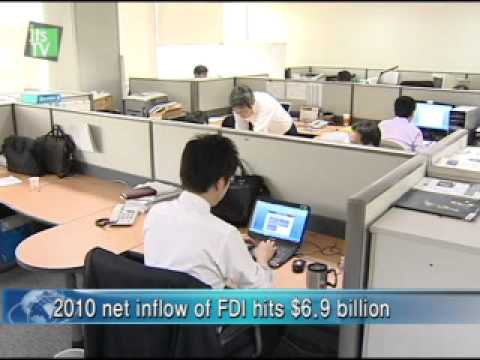 [Industry professional news channel itsTV]   Foreign direct investment ranks 32nd around the world