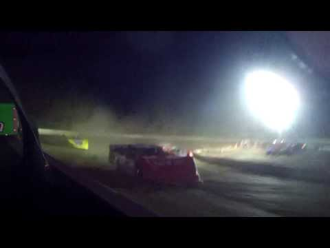 7/21/2017 Black Hills Speedway main in car (rear)