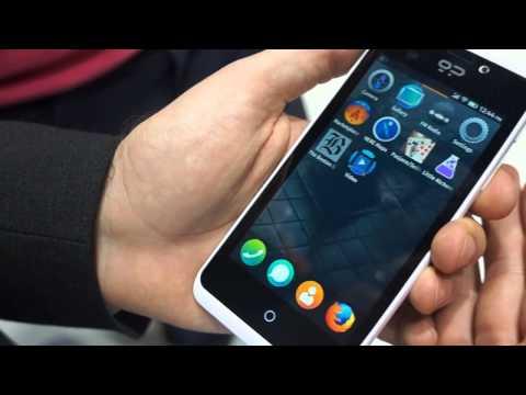 Primer contacto con Geeksphone Peak con Firefox OS