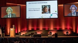 2016 Rednerpreis Helmut Markwort