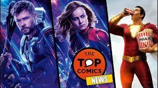 Mensaje oculto en clip Avengers Endgame I Secuela Shazam