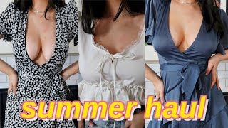 summer try on haul | princess polly and fashion nova
