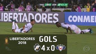Vasco 4 x 0 Jorge Wilstermann (BOL) - Libertadores 2018 - Globo HD⁶⁰
