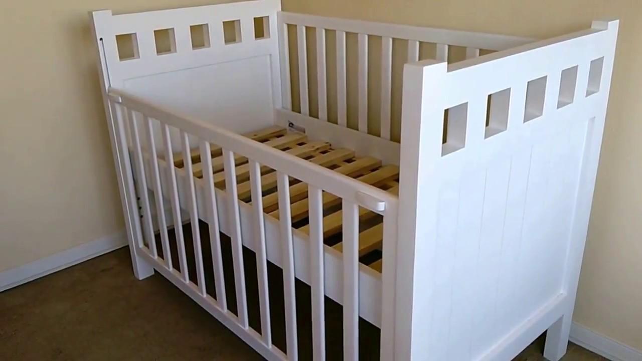 Cuna Noemí, para colchón 70 x 140