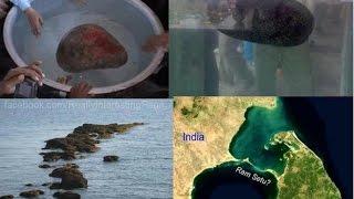 Ram-setu - A Floating Stone