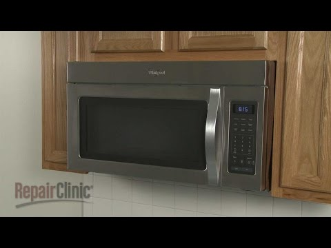 Whirlpool Microwave Disassembly