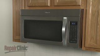 Whirlpool Microwave Disassembly – Microwave Repair Help