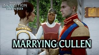Dragon Age: Inquisition - Trespasser DLC - Marrying Cullen