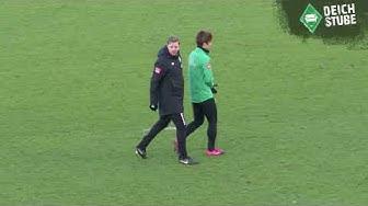 Werder Bremen: Florian Kohfeldt faltet Yuya Osako zusammen