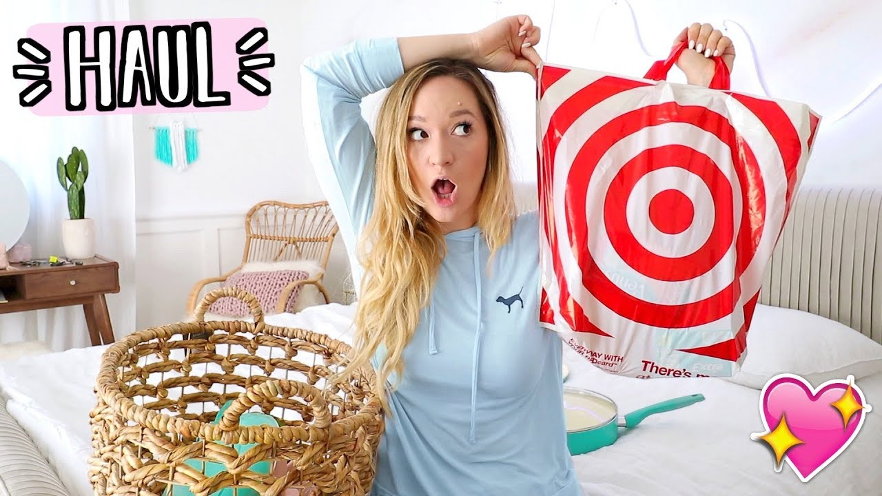target haul home decor more alishamarievlogs youtube
