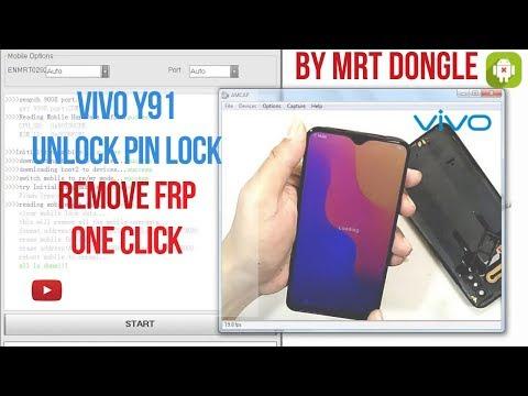 Vivo Y91 (Android 8 1 0) Unlock Pattern||Unlock FRP (Test Point