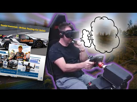 Beating a BTCC Driver around the Nordschleife with one hand