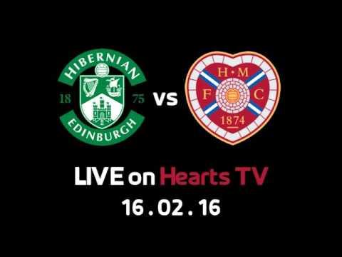 Hibernian Vs Hearts - LIVE On Hearts TV