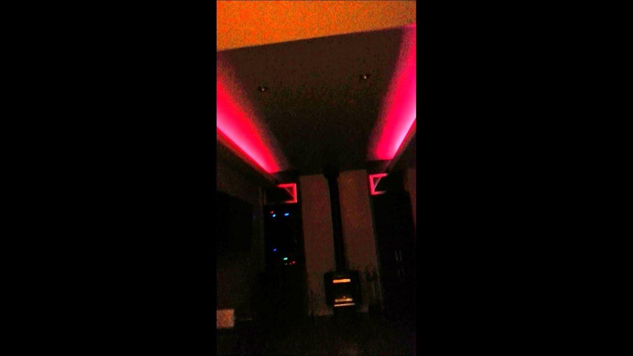 eclairage led salon youtube. Black Bedroom Furniture Sets. Home Design Ideas