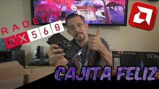 Unboxing Reseña Sapphire Pulse RX560 - Cajita Feliz