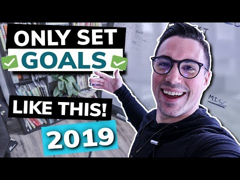 How to Set Goals | THE 100% RIGHT WAY (+EPIC Workshop)