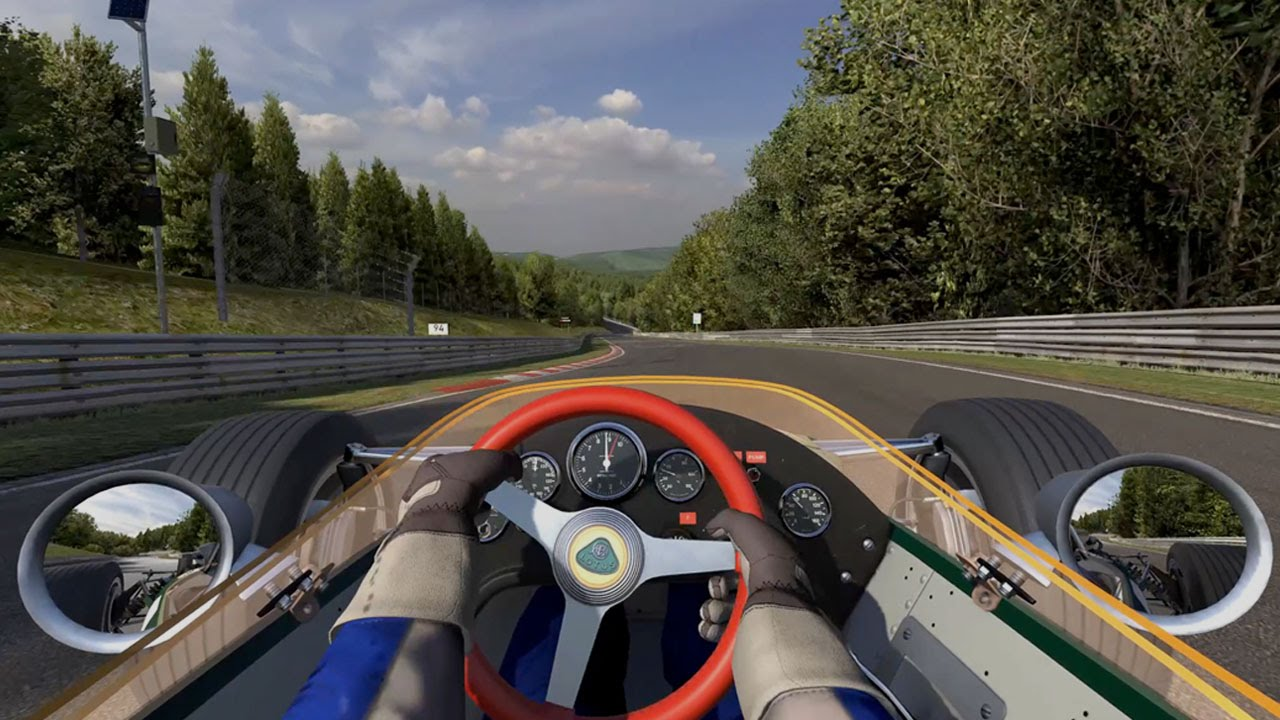 iRacing's Version Of The Nürburgring May Be The Most Epic Racing Sim