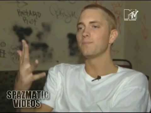 Rare vintage Eminem Interview and Freestyle