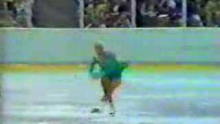 Lisa Marie Allen, 1980 Winter Olympics SP