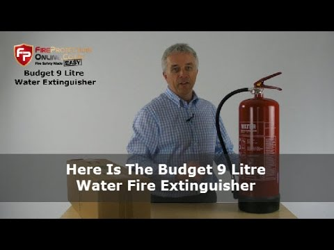 Here Is The Budget 9 Litre Water Fire Extinguisher