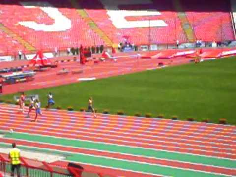 200m heat 6: world student games 2009
