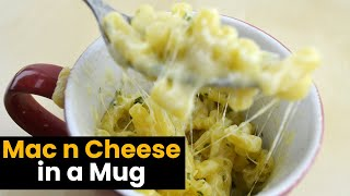 Mac And Cheese In A Mug In Less Than 5 Minutes!!