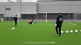 The Dutch Goalkeepers Academy - Inside movement GK training