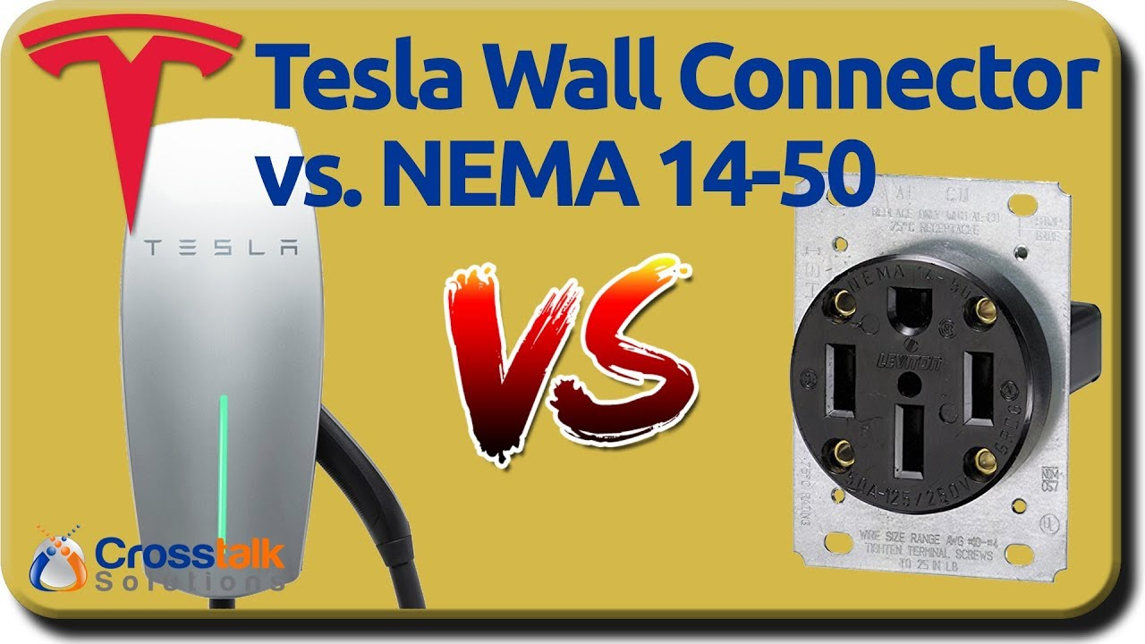 Tesla Wall Connector vs  NEMA 15-40