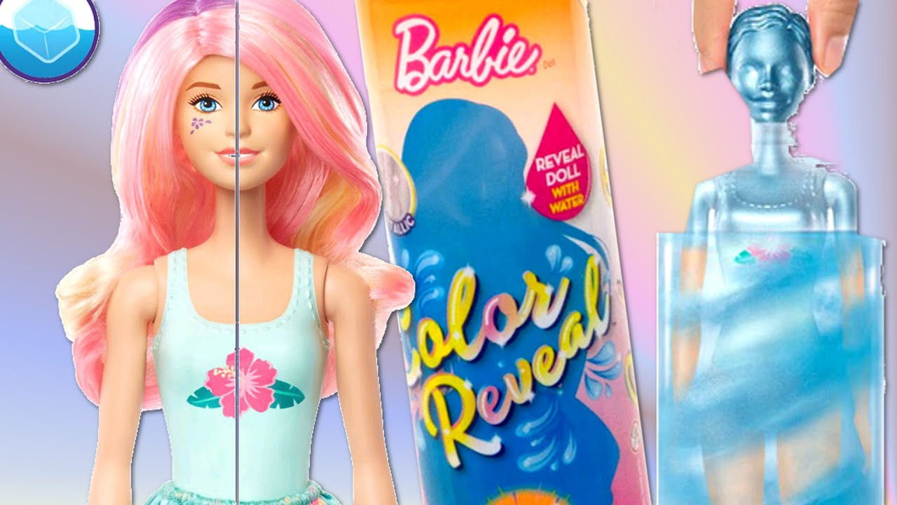 BARBIE KOLOROWA NIESPODZIANKA seria 3 💝 BARBIE COLOR REVEAL series 3 💝 CrazyMonia