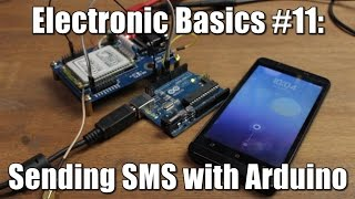Electronic Basics #11: Sending SMS with Arduino || TC 35 GSM Module(Previous video:https://youtu.be/4jc93BTGSmc Facebook: https://www.facebook.com/greatscottlab Twitter: https://twitter.com/GreatScottLab More information ..., 2015-03-27T14:36:03.000Z)