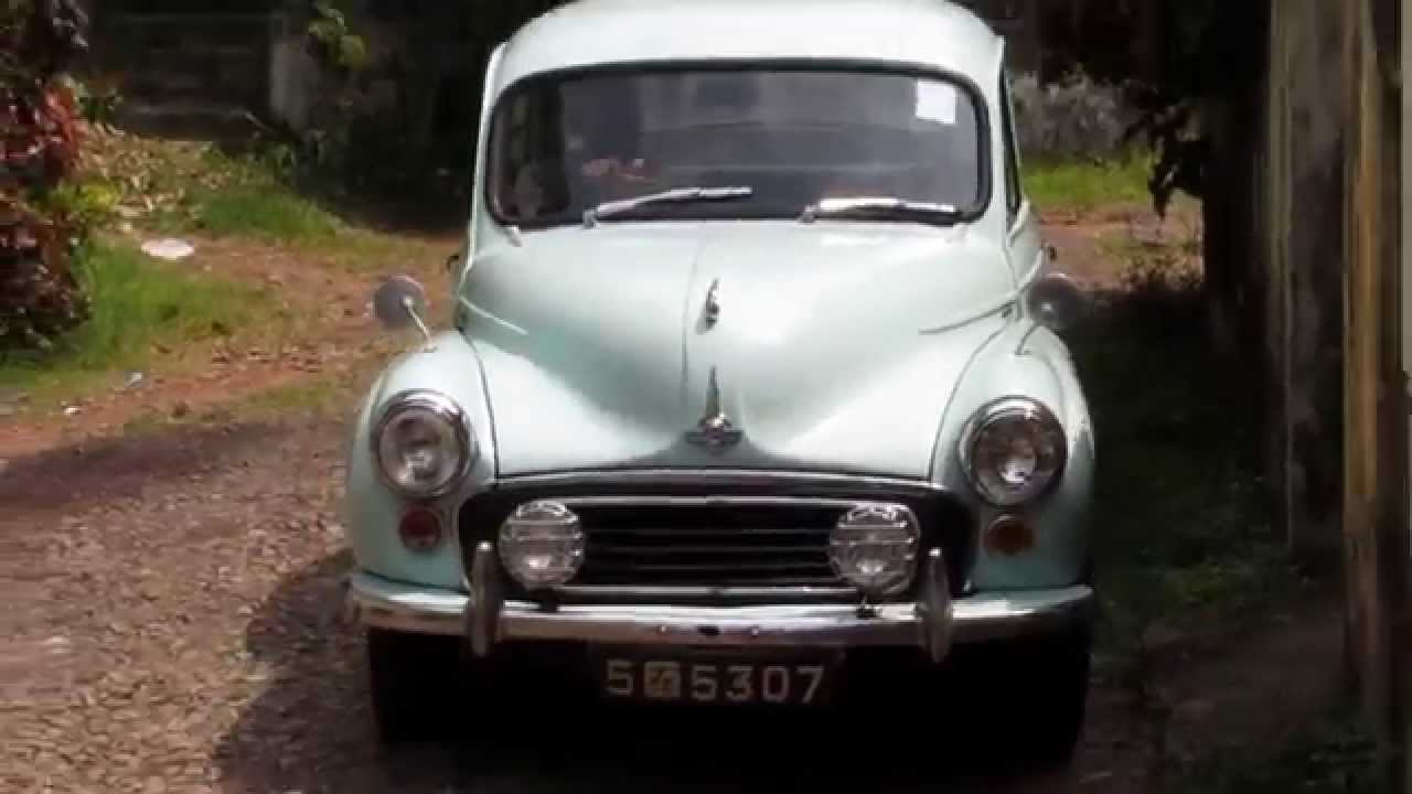 Morris Minor Classic Car Sri Lanka Hd Youtube
