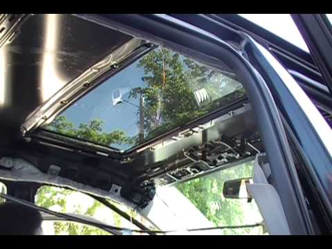 Sunroof Installation By Cesar De P R Corolla09 Youtube