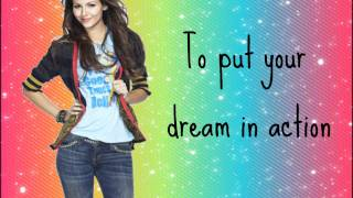 Repeat youtube video Make it shine- Victoria Justice (With Lyrics)