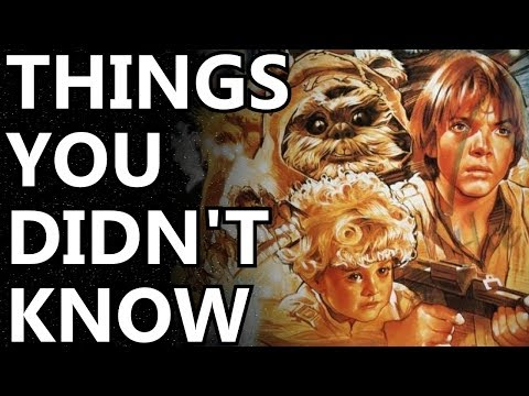 10 Things You Didn't Know About The Ewok Adventure