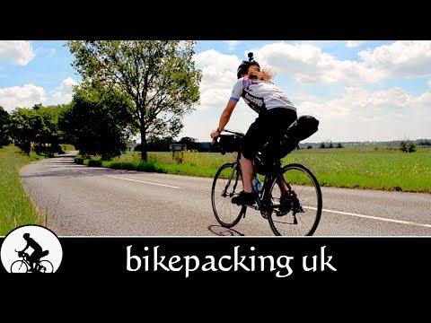 UK bikepacking - villages, woodland & coastline