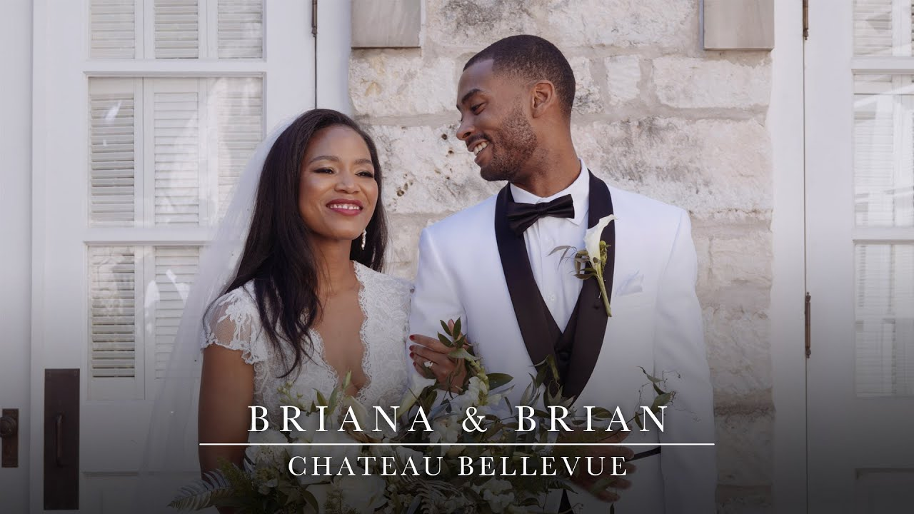 Briana & Brian - Wedding Short Film at Chateau Bellevue in Austin, Texas