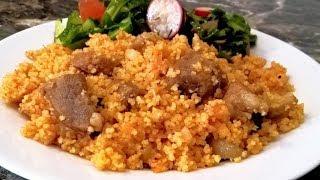 Кус-кус рецепт с овощами и мясом. Кускус как готовить.