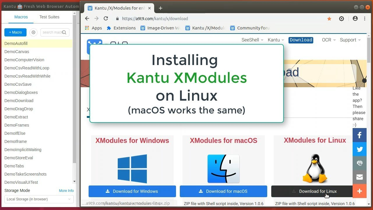 What's new with UI Vision Kantu - Visual Automation plus