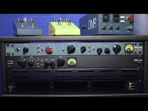 BAE UK Sound 1073 and 176 - AES 2018