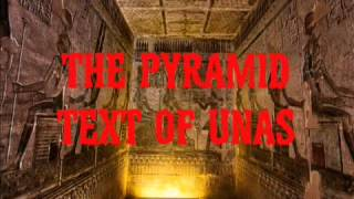 The Pyramid Text Of Unas