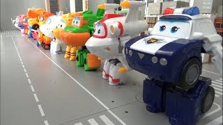 Super Wings 16 Eggs Airplane Robot Toys Transformation 슈퍼윙스 16대 에그 비행기 로봇 장난감 변신
