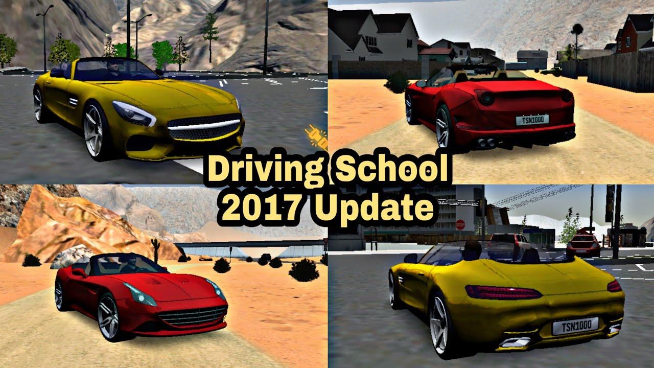 Driving School 2017: Update v2.0.0 Ferrari California T ...