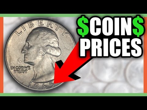 WHAT IS A 1965 QUARTER WORTH? RARE QUARTER WORTH MONEY!!