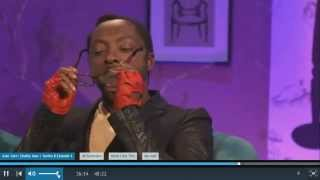 Repeat youtube video Will.i.am Glasses Steaming Up On Alan Carr funny