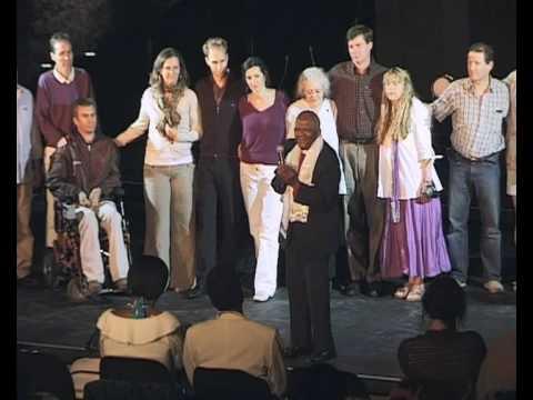 """Archbishop Tutu Receives Spiritual Leadership Award From Humanity's Team"""